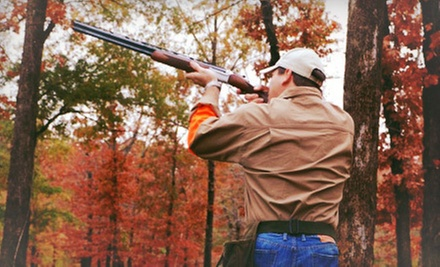 Clay-Shooting Package with Instruction and Lunch for Two or Four at Wildcat Creek Quail Hunting Resort (Up to 64% Off)