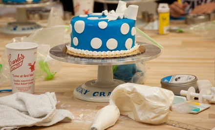 Cake Decorating Class for One or Two at Carlo's Bakery, Seen on TLC's