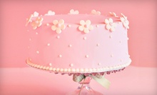 Custom Cake from Canton Cakery (Up to 80% Off). Three Options Available.