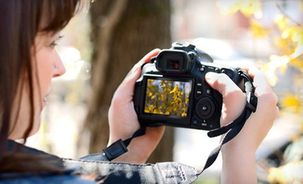 Three-Hour Beginners' Digital-Photography Workshop for One or Two from STL Photo Art (Up to 63% Off)