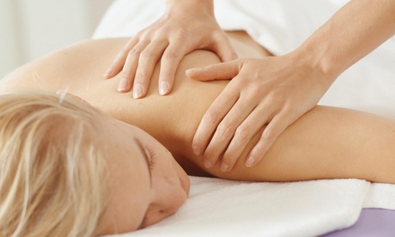 Swedish or Deep-Tissue Massage at A Feel Good Experience Spa (Up to 40% Off). Three Options Available.
