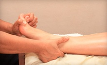One or Three Reflexology Treatments at GreenLife Health Centre (Up to 74% Off)