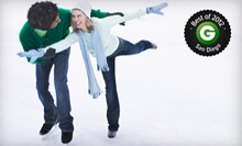 $20 for a Public Skating Session for Four with Skate Rentals at San Diego Ice Arena (Up to $48 Value)