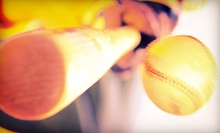 300 or 600 Batting-Cage Pitches or One Pitching, Fielding, or Hitting Lesson at D-Bat Tulsa (Up to 51% Off)