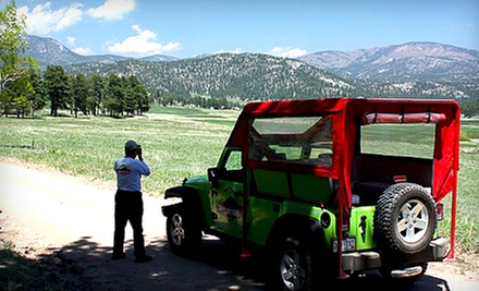 Photo Safari Tour or Springtime in the Rockies Tour from Green Jeep Tours (Up to 51% Off)