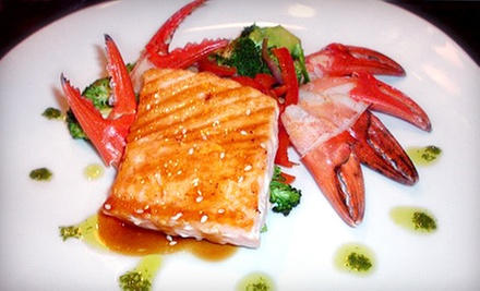 $15 for $30 Worth of Asian Fusion Cuisine and Drinks at Sushi Cafe