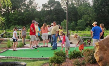 Unlimited Mini Golf for Two, Four, or Six with Ice-Cream Cones at Mac and Bones Miniature Golf (Up to 64% Off)