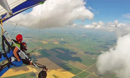 Tandem Hang-Gliding Flight for One or Two from Hang Glide Chicago (Up to 42% Off)