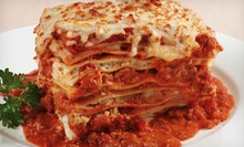 $12 for $25 Worth of Italian Cuisine at East Side Mario's