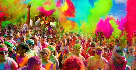 $25 for 5K Registration for One at The Colorful 5K on Sunday, April 19 (Up to $50 Value)