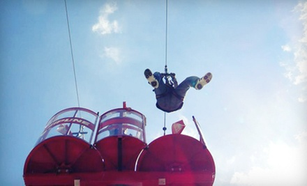 $19 for Unlimited Fun-Park Rides and One Zipline Ride at Odyssey Fun World ($38 Value). Two Options Available.