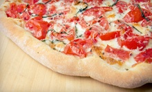 Pizza Meal for 2 or 4 or Chicken-Parmigiana Meal for Up to 10 at Harrison Pizza and Pasta (Up to 59% Off)
