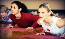 $59 for 10 Yoga Classes at East Wind Studios in Chesterton, IN ($125 Value)