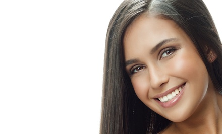 Cut, Style, Blow-Dry, and Deep Condition with Optional Partial or Full Highlights at Hair Flair (Up to 57% Off)