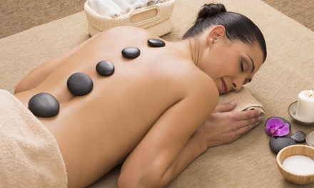 $45 for One Hot-Stone Massage at Prestige Laser Hair Removal and Esthetics ($96.05 Value)