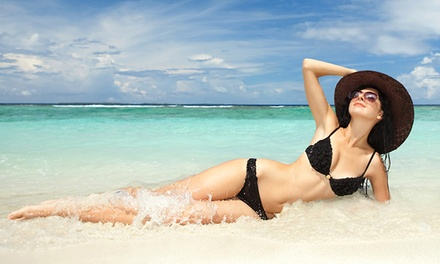 One Month of Unlimited Gold Tanning or Two VersaPro Sunless-Tanning Sessions at Perfect Tan (Up to 50% Off)