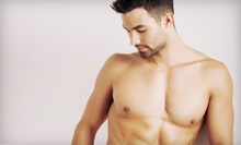 Men's Waxing for One, Two, or Three Areas at The Men's Hair Salon & Spa (Up to 53% Off)