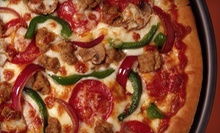 $7 for $14 Worth of Pizzeria Food at Straw Hat Pizza