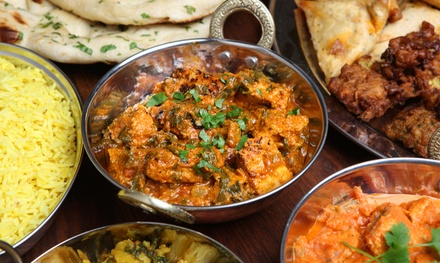 Indian Food or Date Night for Two at Taj Palace Indian Restaurant & Bar (Up to 40% Off)