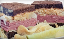 $9 for $18 Worth of Sandwiches, Chips, and Drinks at Frank's NY Deli in Arden