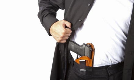 $75 for an Eight-Hour Concealed-Pistol Class at Protection First CCW (Up to $150 Value)