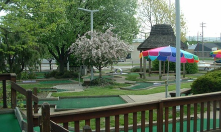 Four or Eight Rounds of Mini Golf at General Custers Golf & Gulp (Up to 53% Off)