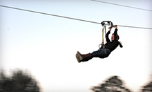 Super-Zipline Ride for One or Two at Fire Wire Zip Lines (Up to Half Off)