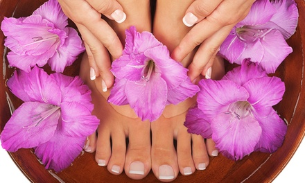 One, Two, or Three Spa Manicure and Pedicure Packages at Venus Nails & Spa (Up to 52% Off)