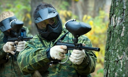 Paintball for One, Two, or Five at Maple Ridge Paintball (Up to 57% Off)