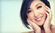 One or Three Custom Facials at Angeline's Aesthetics (Up to 58% Off)