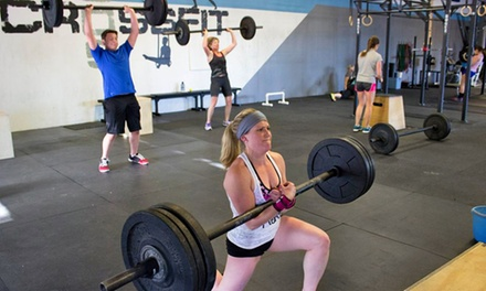 30 Days of CrossFit Classes with Optional Start-Up Workshop for Beginners at CrossFit 509 (Up to 71% Off)