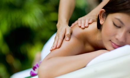 One 55-Minute or Three 30-Minute Therapeutic Massages at Elements Massage (Up to 66% Off)