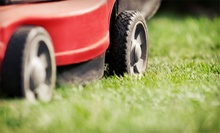 Lawn Aeration with Seeding or Seasonal Cleanup with Mowing from Bellaire Yard Care (Up to 59% Off)