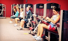 Two-Month Gym Membership or Six-Week Dual Membership with Next Edge Academy at X Fitness (Up to 57% Off)