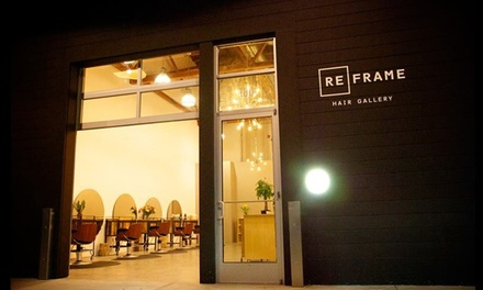 Color Touch-up and Blow-Dry from Reframe Hair Gallery (55% Off)