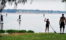 Standup-Paddleboarding Lesson for One, Two, or Four with a Two-Hour Equipment Rental from DFW Surf (Up to 65% Off)