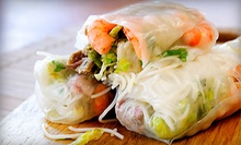 Vietnamese Food for Two or More or Four or More at Saigon Star (Up to 45% Off)