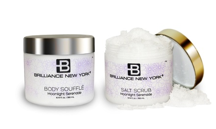 Brilliance New York	Moonlight Serenade Skincare Bundle with Body Soufflé and Salt Scrub