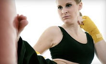 10, 15, or 20 Women's Kickboxing Classes at Foxy & Fierce (Up to 84% Off)
