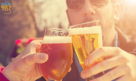 Up to 56% Off Craft Beer Festival entry at So Cal Brew Fest