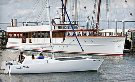 Semi-Private or Private Cruise from Prevailing Winds Catamaran Sailing Charter (Up to 51% Off). Three Options Available.