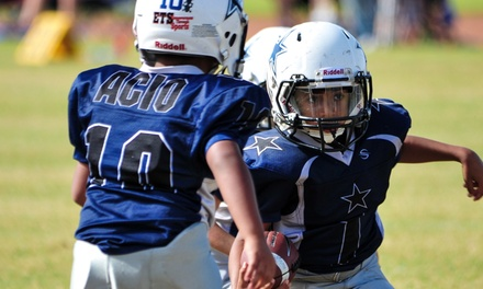 $115 for Youth Football League for One from            Empowerment Through Sports ($217 Value)