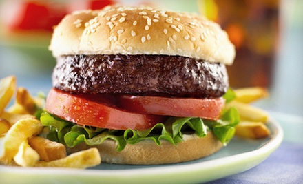 $12 for a Burger Lunch for Two at Bailey&#x27;s Casual Dining (Up to $25.97 Value)