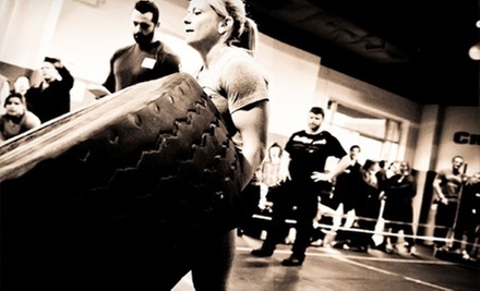 $89 for One-Month CrossFit 101 Package with Personal Training and Unlimited Classes at CrossFit Gloucester ($200 Value)