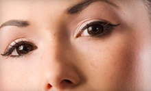 Permanent Eyebrow Makeup or Eyeliner at Synergy Day Spa (Up to 56% Off)