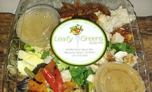 Healthy Food at Leafy Greens Salad Bar (Half Off). Two Options Available. 