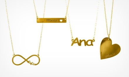 Prometeu: colar personalizado com nome por 14,90€