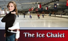 Two or Four Public Ice-Skating Sessions with Skate Rental at Ice Chalet (Up to 53% Off)