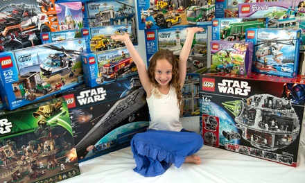 Two-Month Lego Subscription with up to $400 Worth of Lego Rental Sets from NetBricks (Up to 73% Off). Two Options.
