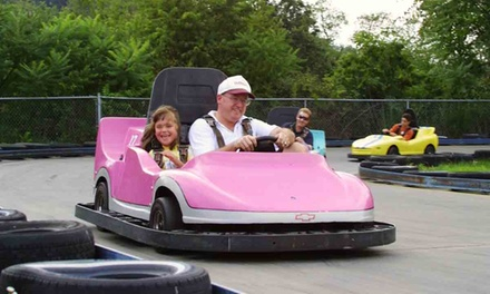 $25 for Five Family Attractions and $10 Worth of Arcade Tokens at Wildwood Highlands ($42.50 Value)